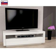 ATAN TV stůl AGNES - bílá