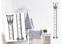 Dimex Dekoračné nálepky na stenu Zebra meter - 50 x 70 cm