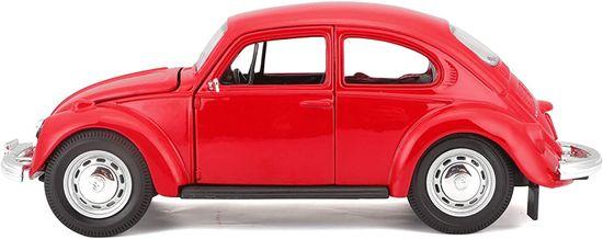 Maisto Volkswagen Beetle 1973, rdeč