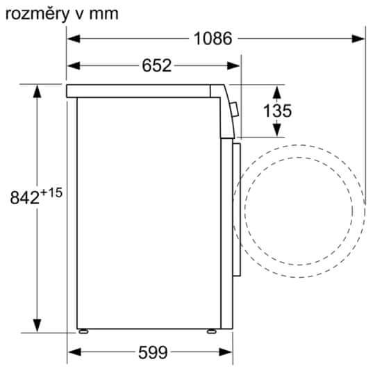 Bosch sušička prádla WTR87TW1CS
