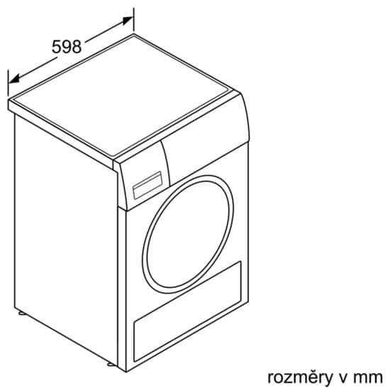 Bosch sušička prádla WTX87EH0EU