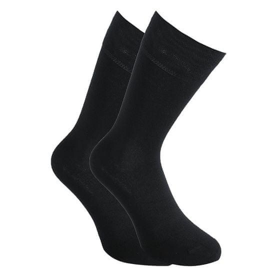 Styx Ponožky vysoké bambusové černé (HB960)