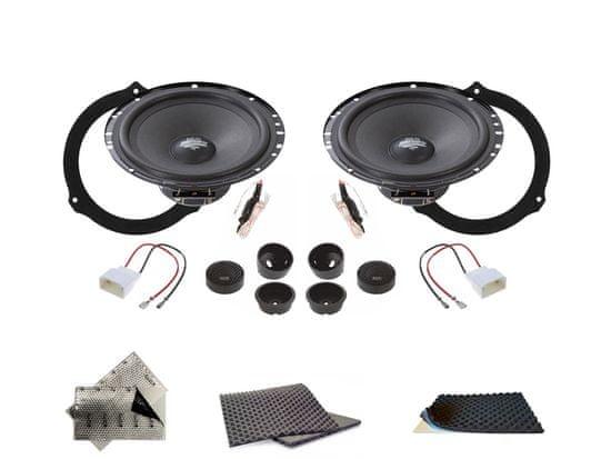 Audio-system SET - přední reproduktory do Ford Mondeo MK4 (2007-2015)- Audio System MX