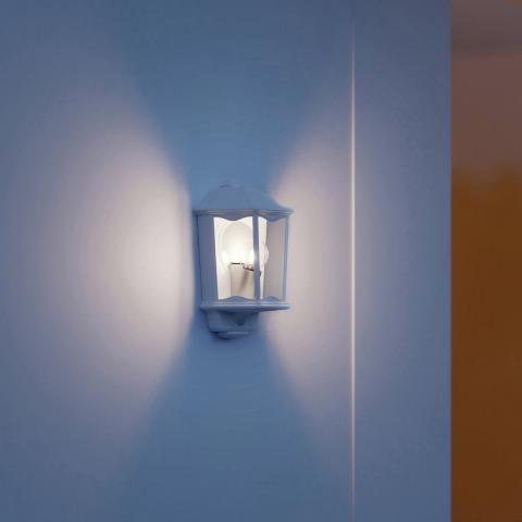 STEINEL Zunanja svetilka z senzorjem L 190 S črna