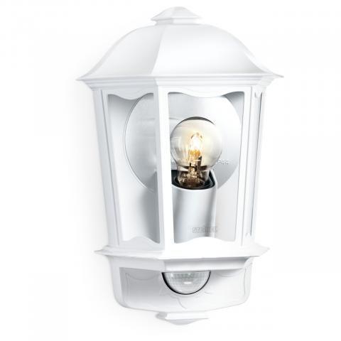 STEINEL Zunanja svetilka z senzorjem L 190 S bela