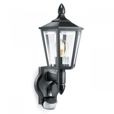 STEINEL Zunanja svetilka z senzorjem L 15 črna