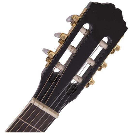 Dimavery CN-600E, elektroakustická klasická kytara 4/4, černá