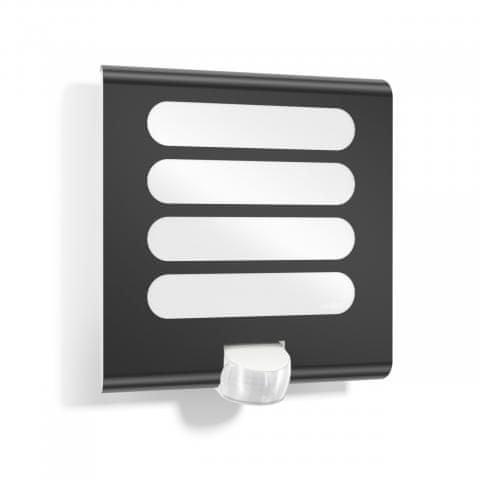 STEINEL Zunanja svetilka z senzorjem L 224 led antracit