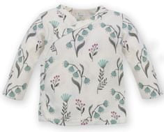 PINOKIO dívčí zavinovací tričko My Garden 56 smetanová