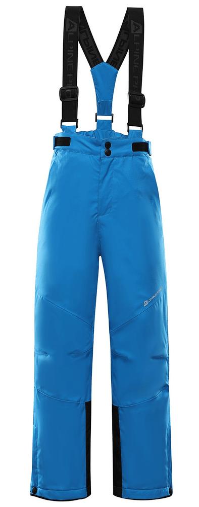 ALPINE PRO dětské lyžařské kalhoty ANIKO 4 128 - 134 modrá