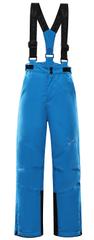ALPINE PRO dětské lyžařské kalhoty ANIKO 4 152 - 158 modrá