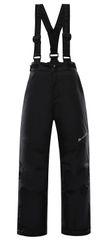 ALPINE PRO dětské lyžařské kalhoty ANIKO 4 92 - 98 černá