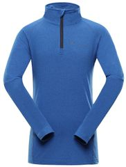 ALPINE PRO Neveo 5 otroška funkcionalna majica, modra, 116–122