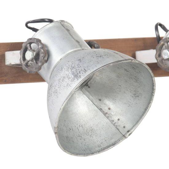 shumee ezüstszínű ipari falilámpa 45 x 25 cm E27