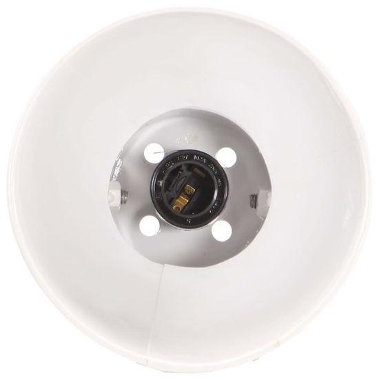 shumee fehér kerek ipari asztali lámpa 58 x 18 x 90 cm E27