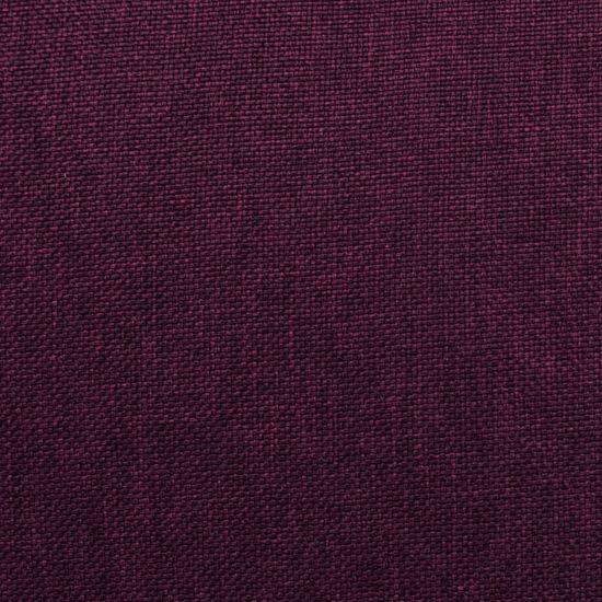 shumee Sklápacie masážne kreslo, fialové, látka
