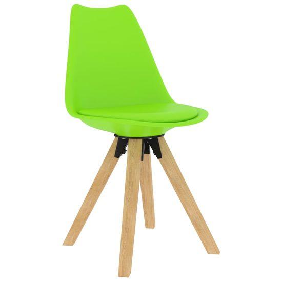 shumee 3-delna jedilnica, zelena