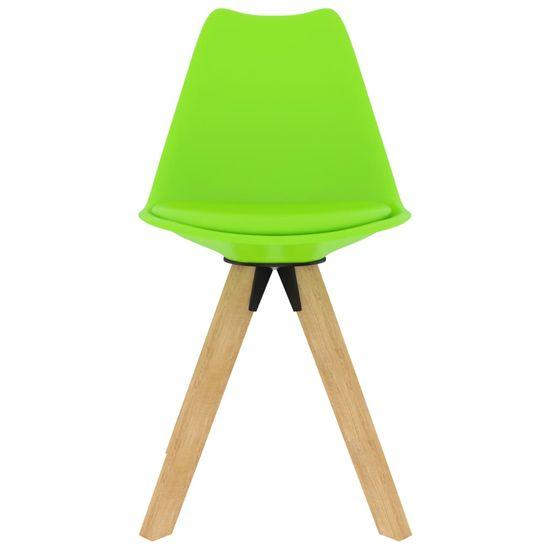 shumee 7-delna jedilnica, zelena