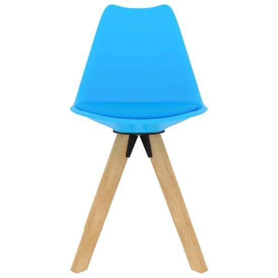 shumee 5-delna jedilnica v modri barvi