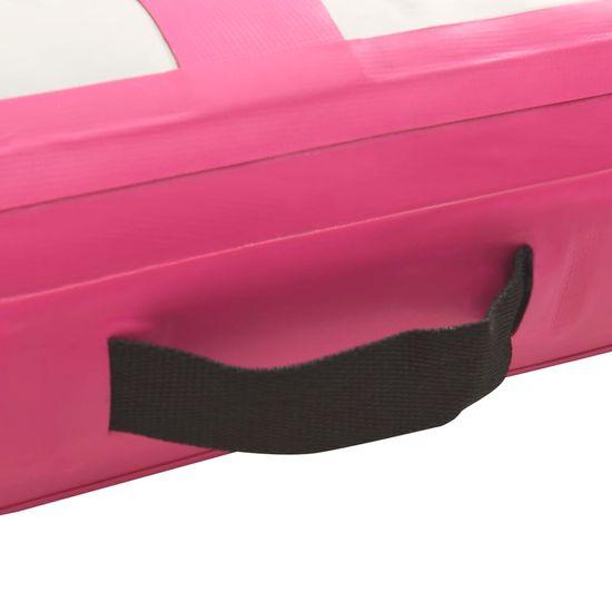 shumee rózsaszín PVC felfújható tornamatrac pumpával 60 x 100 x 20 cm