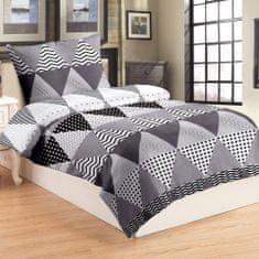 Jahu posteljnina Triangle grey, 70x90/140x200 cm