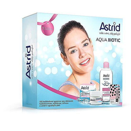 Astrid Zestaw upominkowy dla skóry suchej i wrażliwej Aqua Biotic Tripack