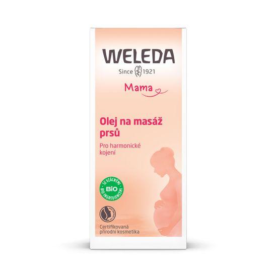 Weleda olje za masažo prsi, 50 ml
