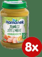 Hamánek Jehněčí soté s mrkví a bramborovým pyré 8x 190g