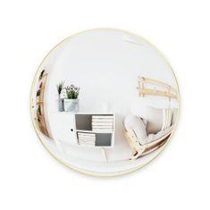 shumee Konvexní zlaté konvexní zrcadlo