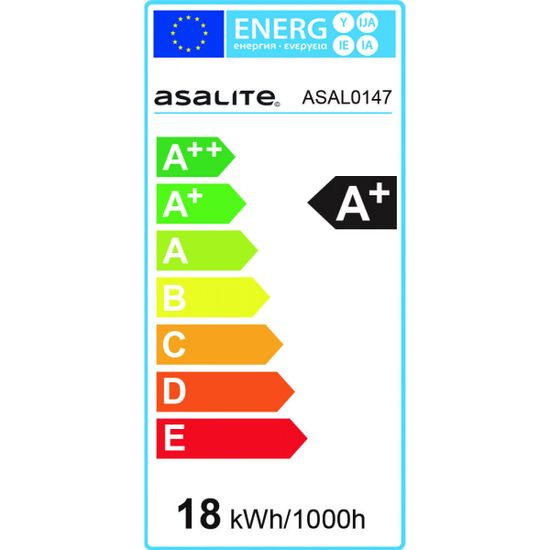 Asalite E27 LED sijalka, 18 W, 3000 K, 1620 lm