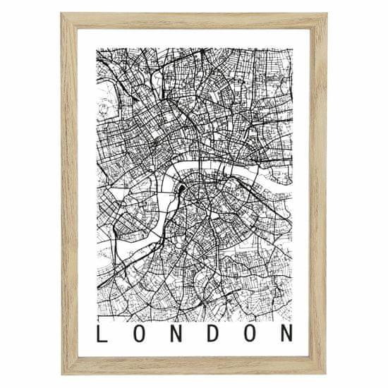 shumee Slika zemljevida Londona