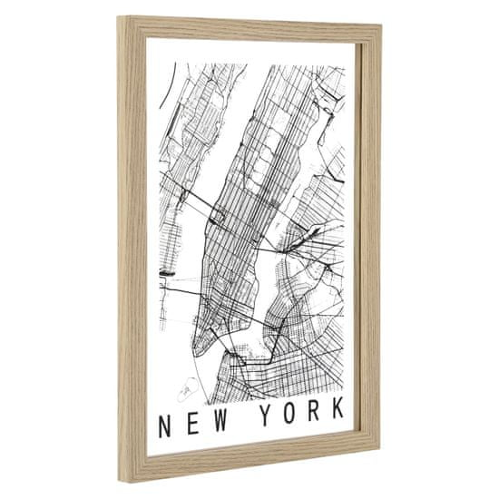 shumee Slika zemljevida New Yorka