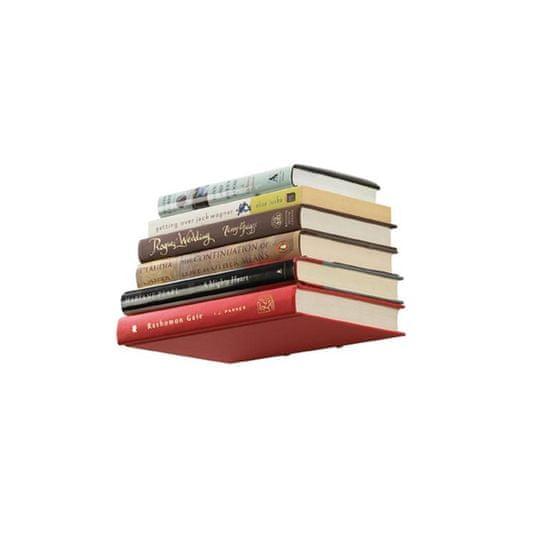 shumee Kicsi könyvespolc, ezüst, CONCEAL