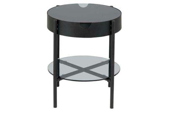 shumee Tipton Glass / črna S miza