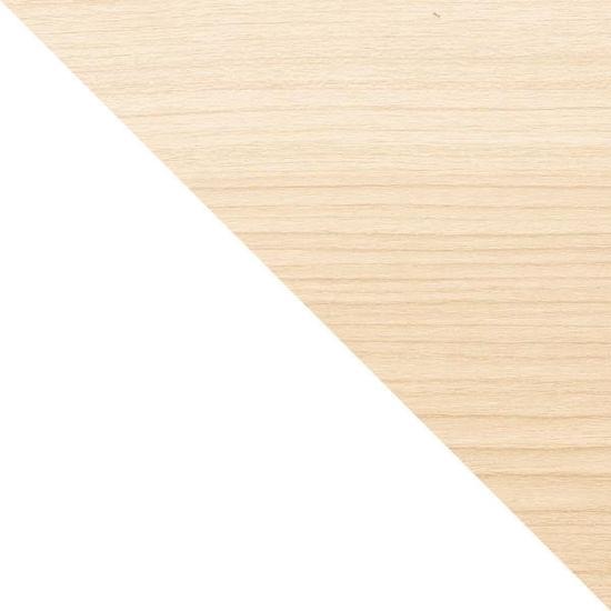 shumee Stolik z rączką Bellwood biały/ naturaln y