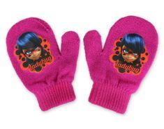 "SETINO Dekliške rokavice ""Miraculous"" - vijolična - 10x13 cm"