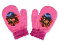 "SETINO Dekliške rokavice ""Miraculous"" - roza - 10x13 cm"