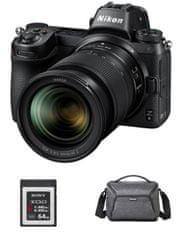 Nikon kit Z6 brezzrcalni fotoaparat + objektiv 24-70 + XQD kartica, 64GB + torba