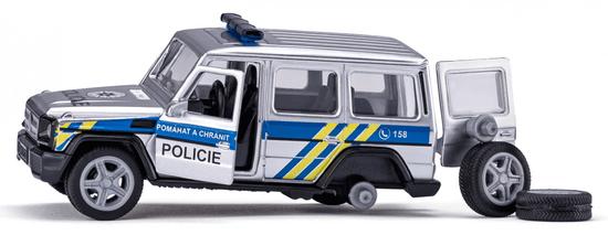 SIKU Mercedes AMG G65 policijski avto, češka verzija