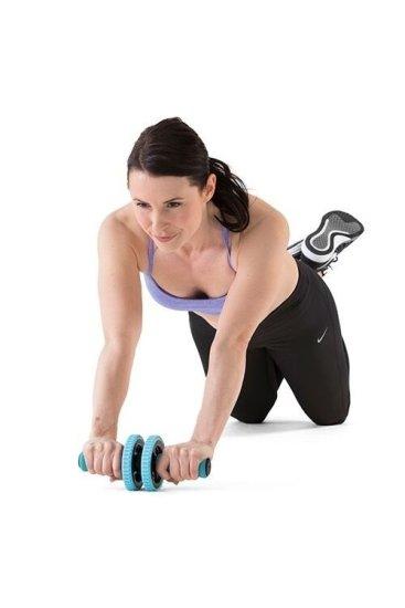 Gymstick Active vadbeni kolešček, moder
