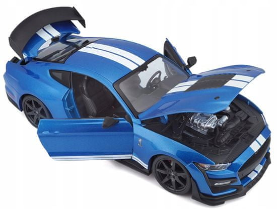 Maisto model Ford Shelby GT500 2020 niebieski 1:18