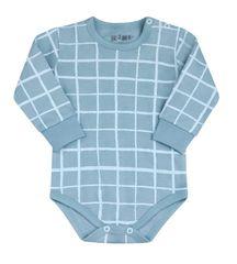 Nini ABN-2106 bodi za dječake od organskog pamuka, 98, plavi