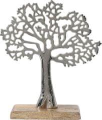 shumee Dekorácia Gondor strom strieborná S