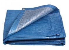Plachta 10 x 10 m nepremokavá s okami modrá