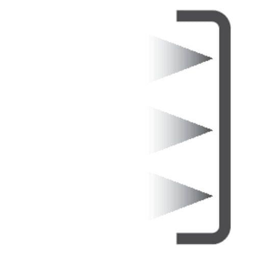Lednice Candy CFBD 2450/2E LED osvětlení