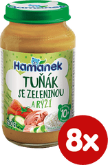 Hamánek Tuniak zelenina ryža 8x 230g