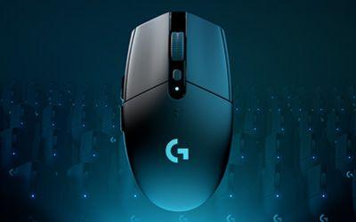 G305 Lightspeed brezžična gaming miška