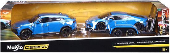Maisto model Lamborghini Urus + Lamborghini Huracan Coupé