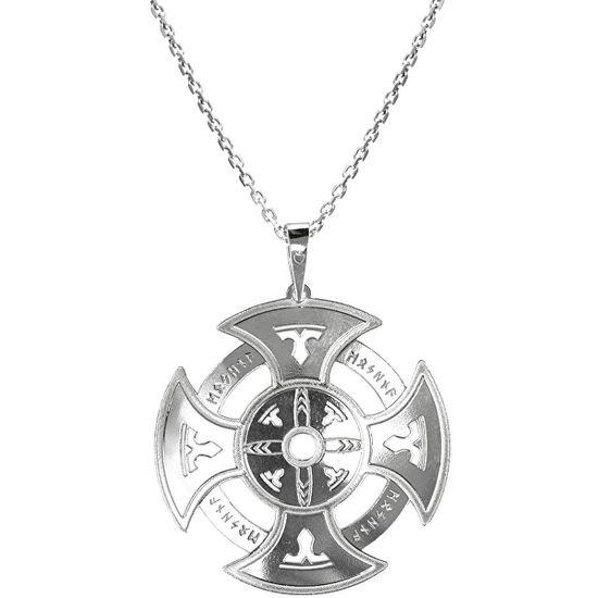 Praqia Férfi ezüst nyaklánc Oxull KO5004_MO060_50_RH (lánc, medál) ezüst 925/1000