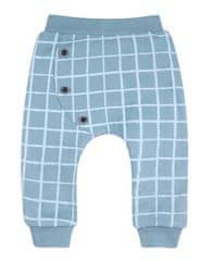 Nini chlapecké tepláky z organické bavlny ABN-2113 56 modrá